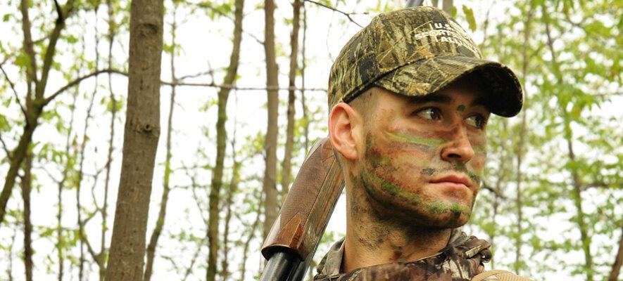 P1 camo hunter