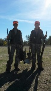 Morgan & Mason of 2girls Hunting