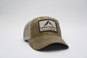 Dark Tan Trucker Hat 1