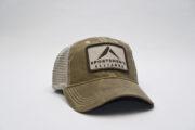 Dark Tan Trucker Hat 1